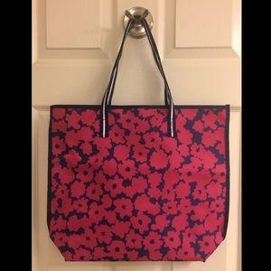 Estée Lauder Pink & Navy Floral Tote, New